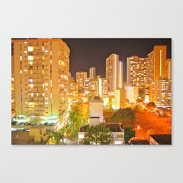 12th floor dining room view Canvas Print