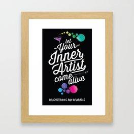 Let your inner artist come alive! Framed Art Print