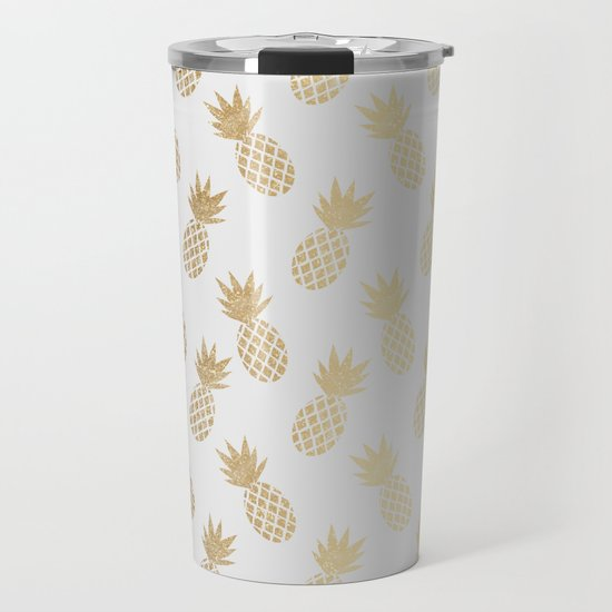 Gold Pineapple Pattern by tanyalegere