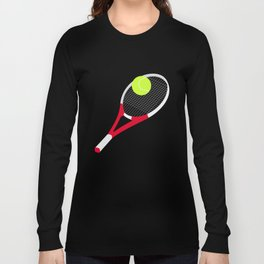 Tennis racket and tennis ball Long Sleeve T-shirt