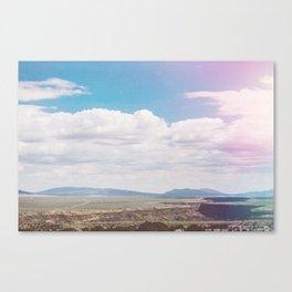 Dry Canyon Canvas Print