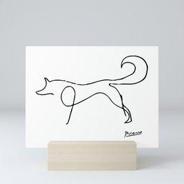 Pablo Picasso, The Fox, Animals Sketch, Artwork For Prints, Posters, Bags, Tshirts, Men, Women, Kids Mini Art Print
