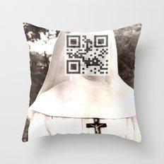 Audrey Hepburn (The Nun's Story) Throw Pillow