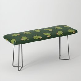 Frog Prince Pattern Bench