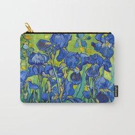 Vincent Van Gogh Irises Painting Detail Carry-All Pouch