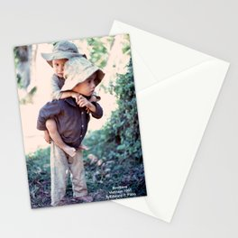 Brothers, Vietnam, 1967 Stationery Cards