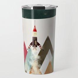 living on the moon Travel Mug