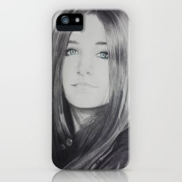 Paris Jackson iPhone Case