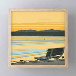 Off the Grid Framed Mini Art Print