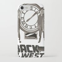 back to the future iPhone & iPod Cases featuring BACK TO THE FUTURE by Rocky Rock