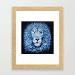 'Majesty' Star Lion Framed Art Print