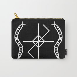 Black Serpent Sigil Carry-All Pouch