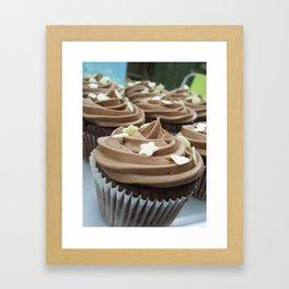 Chocolate Stars Framed Art Print