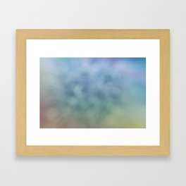 Relax of Blue Framed Art Print