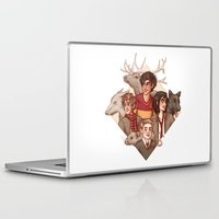 marauders Laptop & iPad Skins featuring The Marauders by Susanne