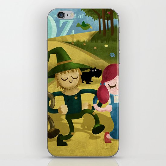 Wizard of Oz fan art iPhone & iPod Skin