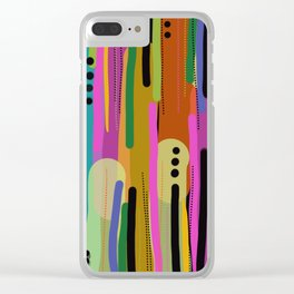 Forest of  Colors Clear iPhone Case