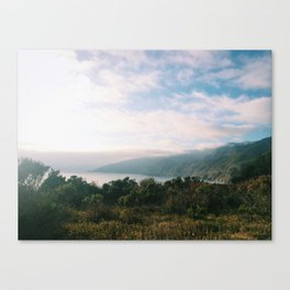 Kirk Creek, Big Sur Canvas Print