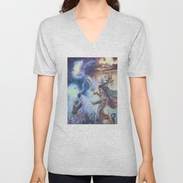 Spirit Warrior Unisex V-Neck