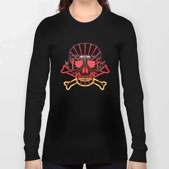 Deutsch Skull / Rammstein Long Sleeve T-shirt