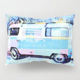 The Magic Surf Bus Pillow Sham