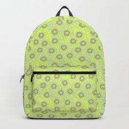 Gold Gum Blossom  Backpack