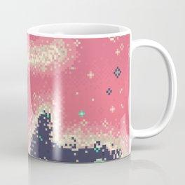 Pink Midnight Galaxy (8Bit) Coffee Mug