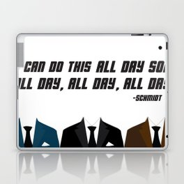 All Day | New Girl Laptop & iPad Skin