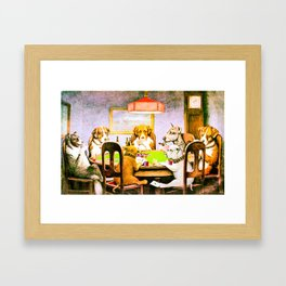 A FRIEND INDEED Framed Art Print