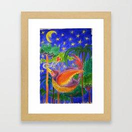 Rich Bird Framed Art Print