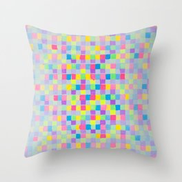 JCrafthouse  The Painted Block Basketweave  Throw Pillow