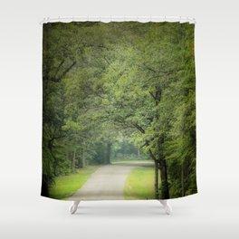 Summer Morning Stroll  Shower Curtain