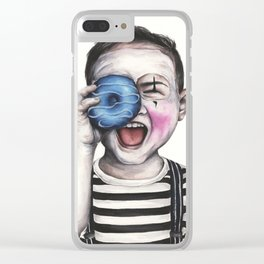 Sweet Mime Clear iPhone Case