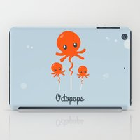 octopus iPad Cases featuring Octopus by Jane Mathieu