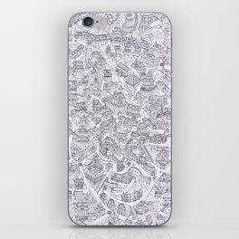 Original Chinese style village print iPhone Skin
