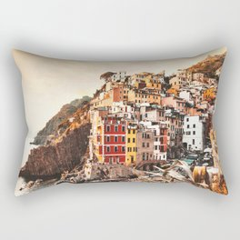 riomaggiore at cinque terre Rectangular Pillow