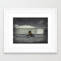 mustang Framed Art Prints featuring Mustang by Jorgenson Art Syndicate