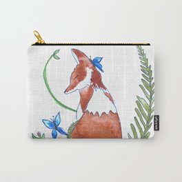 Foxy Friend Carry-All Pouch