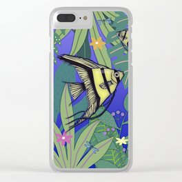 Angel Fish #1 Clear iPhone Case