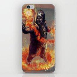 The Warlock Apollo iPhone Skin