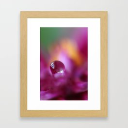 A DROP Framed Art Print