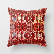 Cool abstract 3-D design Throw Pillow