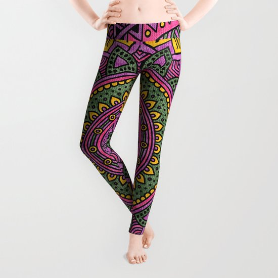 Hippie mandala 45 Leggings