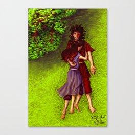 Zutara - Unity Canvas Print