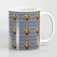 shakespeare Mugs featuring William Shakespeare by Glenn Designs