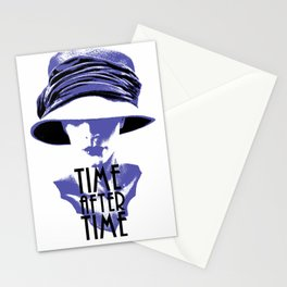 Time After Time Bleu Stationery Cards