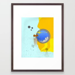 creating dreams innuendo Framed Art Print