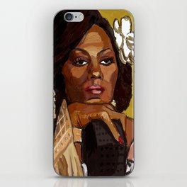 Lady Sings the Blues iPhone Skin