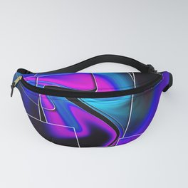 """Piecing Love Together"" Print Fanny Pack"