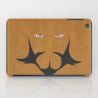 gurren lagann iPad Cases featuring Minimalist Lordgenome by 5eth
